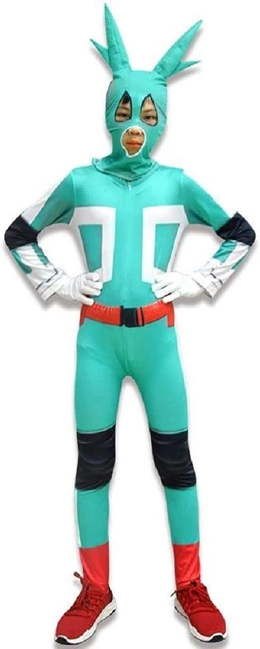 My Hero Academia Midoriya Izuku Jumpsuit Boku No Hero Cosplay Costume Bodysuit