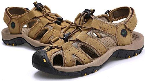 Mens Athlétique Sandale En Plein Air Sport Sandale Kaki