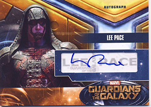 2014 Guardians of the Galaxy Trading Card Set Autograph Lee Pace as Ronan