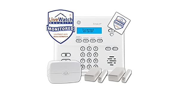 amazoncom livewatch security livewatch27 livewatch diy wireless burglar video alarm monitoring package home improvement