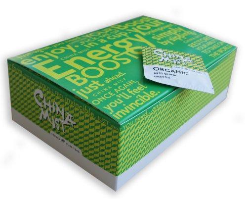 China Mist Leaves Pure Teas Organic Best China Green 100-ct Tea Bags
