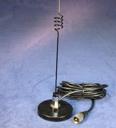 Magnetic Mobile Antenna Ham Radio 2 Meter / 70 cm 140 to 150 and 440 to 470 MHz