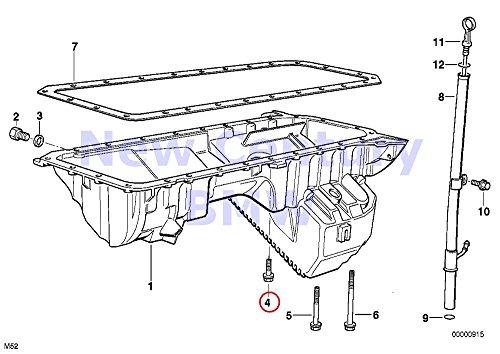 - 21 X BMW Genuine Oil Pan/Oil Level Indicator Hex Bolt 328i M3 3.2 525i 528i 530i 320i 323Ci 323i 325Ci 325i 325xi 328Ci 328i 330Ci 330i 330xi X5 3.0i 525i 530i X3 2.5i X3 3.0i Z4 2.5i Z4 3.0i Z3 2.5 Z