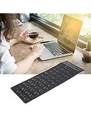 Tangentbord arabiskt klistermärke, flamskyddsmedel Högkvalitativt tangentbordsknappklistermärke för bärbar dator