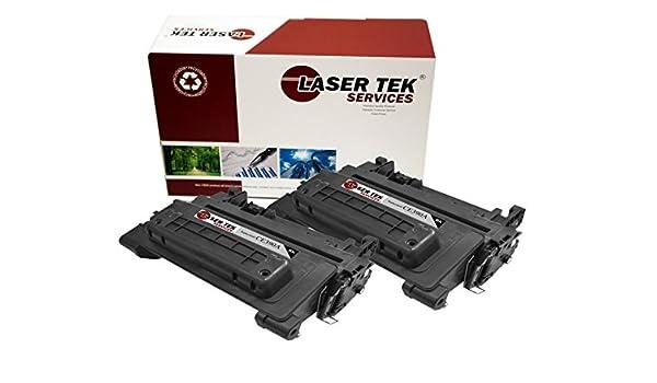 Laser Tek servicios cartucho de tóner compatible de repuesto para el HP CE390 A o HP CE390 X. (negro), color 2pk - Black: Amazon.es: Oficina y papelería