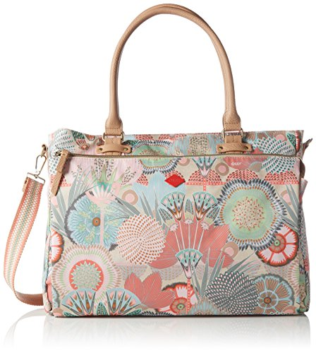 Oilily Oilily Office Bag OES6103-108 Damen Umhängetaschen 39x30x13 cm (B x H x T), Pink (Peach Rose 108)