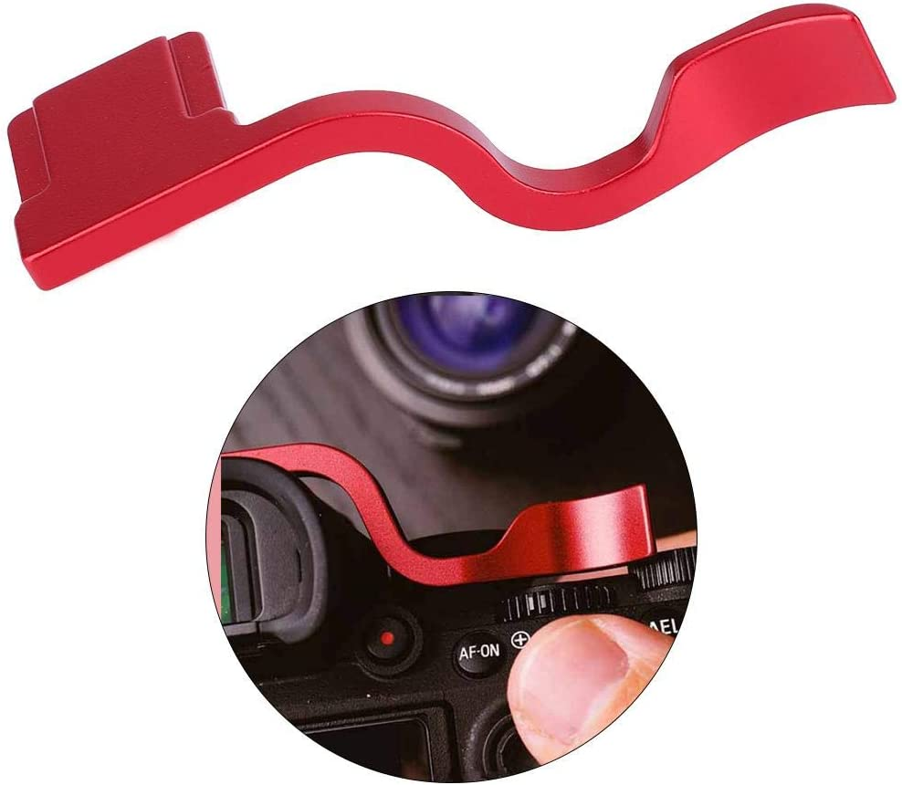 Aluminum Alloy Thumb Rest Up Hand Grip Replacement for Sony A9// A9R// A7RIII// A7 III Camera Acouto Camera Thumb Up Hand Grip