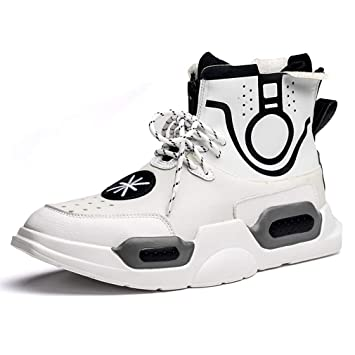 210f890f23bdb Amazon.com: HEmei Men's Sneakers Fall Winter New Basketball Shoes ...