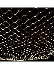 Kerstmis LED Netto-verlichting, outdoor string mesh licht waterdicht opknoping decoratieve licht gordijn fee lichten voor boomomslag, struiken, buiten, kerstmis