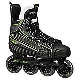 Tour Hockey Code 9 SR Inline Hockey Skate, Black/White/Red, 06