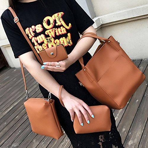 OURBAG femme Pochette pour marron marron marron OURBAGwolzende746 r7qrH4p6O1