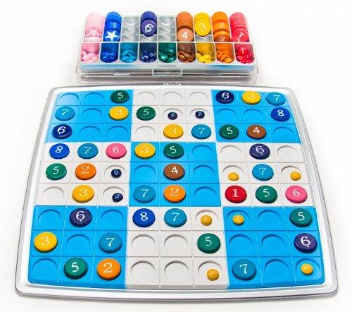 - Sukugo Color + Number Sudoku Game Set