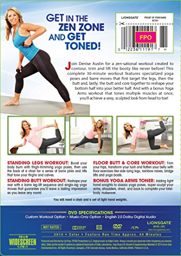 Buy denise austin yoga dvd for beginners