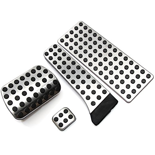 Price comparison product image Trudged(TM) TOP Quality! Stainless Steel Car Fuel Brake Foot Pedals For Mercedes-Benz C E S GLK SLK CLS SL Class