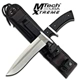 Master Cutlery MX-8090SL-MC MX-8090SL 13″ Fixed Knife, Satin Blade, G10 Handle with Nylon Sheath Review