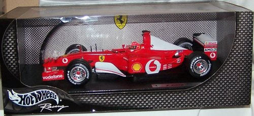 2002 Ferrari Formula One F1 - Michael Schumacher Diecast Model Race Car 1:18 Scale Die Cast