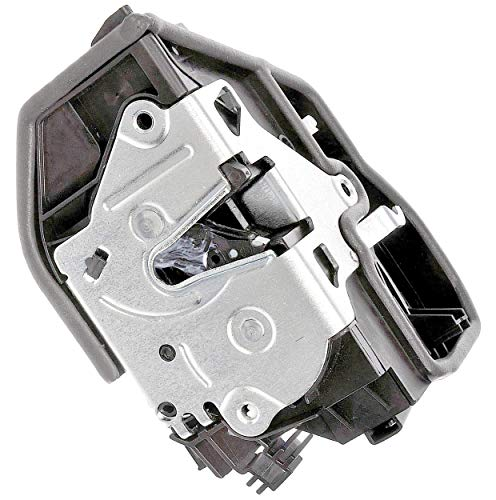 oor Lock Actuator Motor & Latch Assembly Fits Front Left (Driver Side Front) On Numerous 2003-2016 BMW Anti-Theft Models; See Description (Replaces 51-21-7-202-143, 51217202143) ()