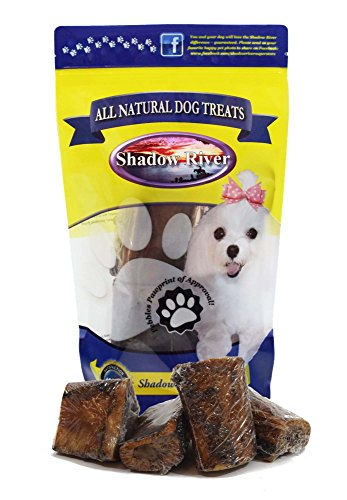 "Shadow River All Natural Beef Center Cut Small Dog Bones 2-3"" Long, 1.5-3"" Diameter - Pack of 4"