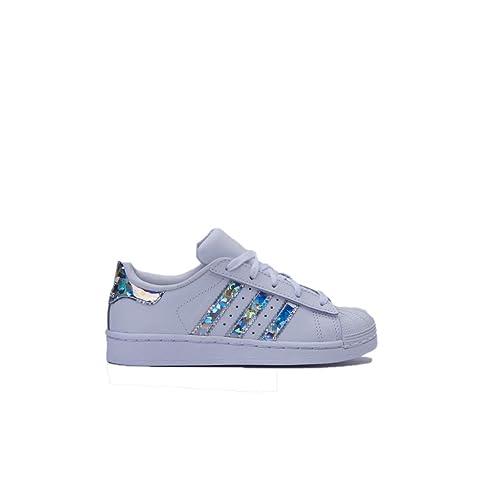 adidas Superstar C, Zapatillas de Gimnasia Unisex Niños: Amazon.es: Zapatos y complementos