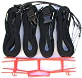 Home Court 19 AG Volleyball Adjustable Boundary Webbing, Black