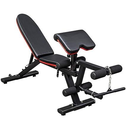 Bancos ajustables Gimnasio con mancuernas banco de casa silla de fitness equipo de entrenamiento profesional supino