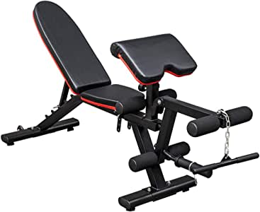 Adjustable Benches Fitness Dumbbell Bench Home Fitness Chair Commercial Supine Fitness Equipment Professional Adjustable Bench Press Multi-Function Bird Training Chair Bearing 300KG
