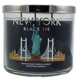 Bath & Body Works New York Black Tie 3- Wick Scented Candle 14.5 Oz/411g)