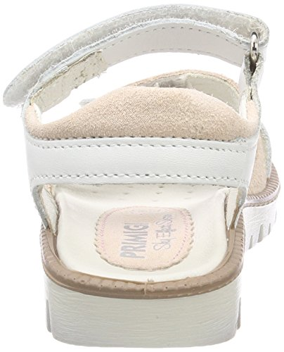 Blanc Primigi rosa 13824 Eu 28 Sandales Pax Ouvert skin Bianco Fille 00 bianco Bout wUqvf