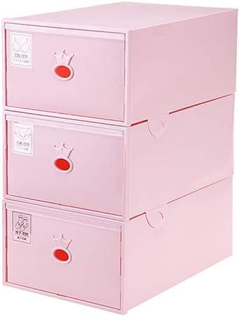 Storage Box 3 Tiroirs Tour De Rangement En Plastique Sous Vetements Armoire De Rangement Pour Chaussettes Chambre Amazon Fr Cuisine Maison