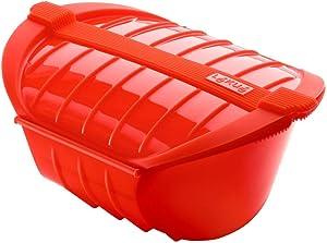 Lekue Ogya Microwavable Pot, Model # , X-Large, Red