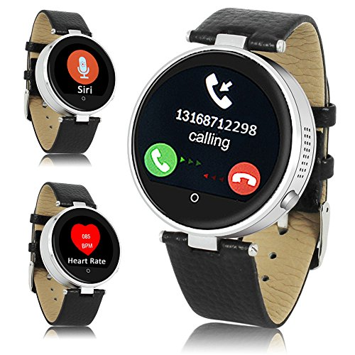 UPC 859109009113, Indigi Stylish Bluetooth SmartWatch Phone Built-in Heart Rate Sensor Siri For All iPhone 6s iPhone 6s plus iPhone 5 etc.