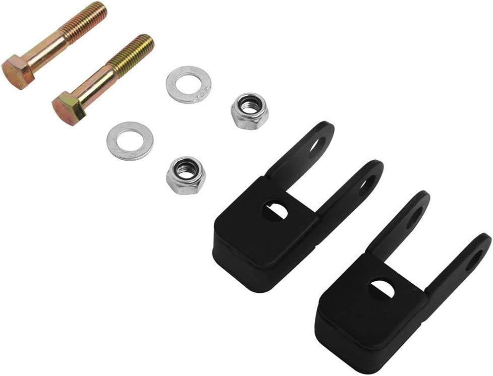 1-3 Torsion Bars Key with Shock Extenders Brackets for Chevy GMC Silverado Sierra 1500 1999-2007 1-3 Forged Adjustable Leveling Lift Kit