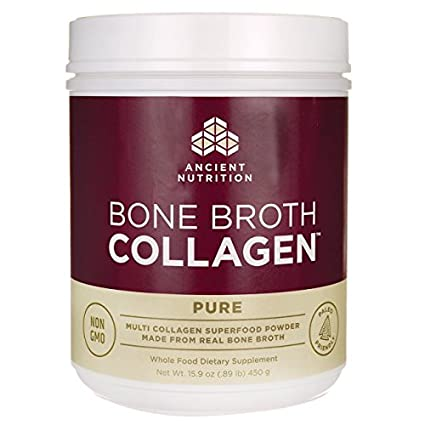 Ancient Nutrition - Pure de colágeno de caldo de hueso - 15.9 oz ...