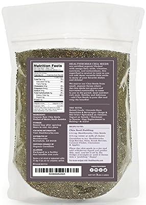 Healthworks Chia Seeds Raw Organic