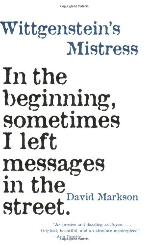 (Wittgenstein's Mistress)