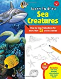 Learn to Draw Sea Creatures: Step-by-step instructions for more than 25 ocean animals - 64 pages of drawing fun! Contains fun facts, quizzes, color photos, and much more!