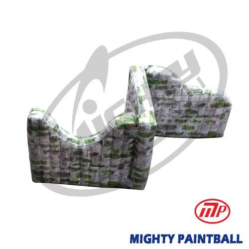 - MP Paintball Air Bunker - wall panel combination - ZIG shape, 1E1F1H (MP-SB-WP05)