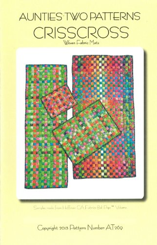 Crisscross Pattern Woven Fabric Mats Rug Table Runner Pad Placemat 4 Size Options ()