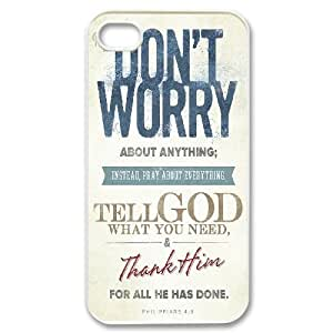 Bible Philippians Series, For Samsung Galaxy S5 Mini Case Cover , WORRYING Is GOD'S TOOL TO LET ME KNOW THAT I NEED TO UP MY FAITH For Samsung Galaxy S5 Mini Case Cover [White]