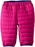 Water repellent and cozy warm, this insulated snow pant keeps them toasty with 100g of Microtemp insulation. You can reverse the look from solid to print and back again for double the pairing options.
