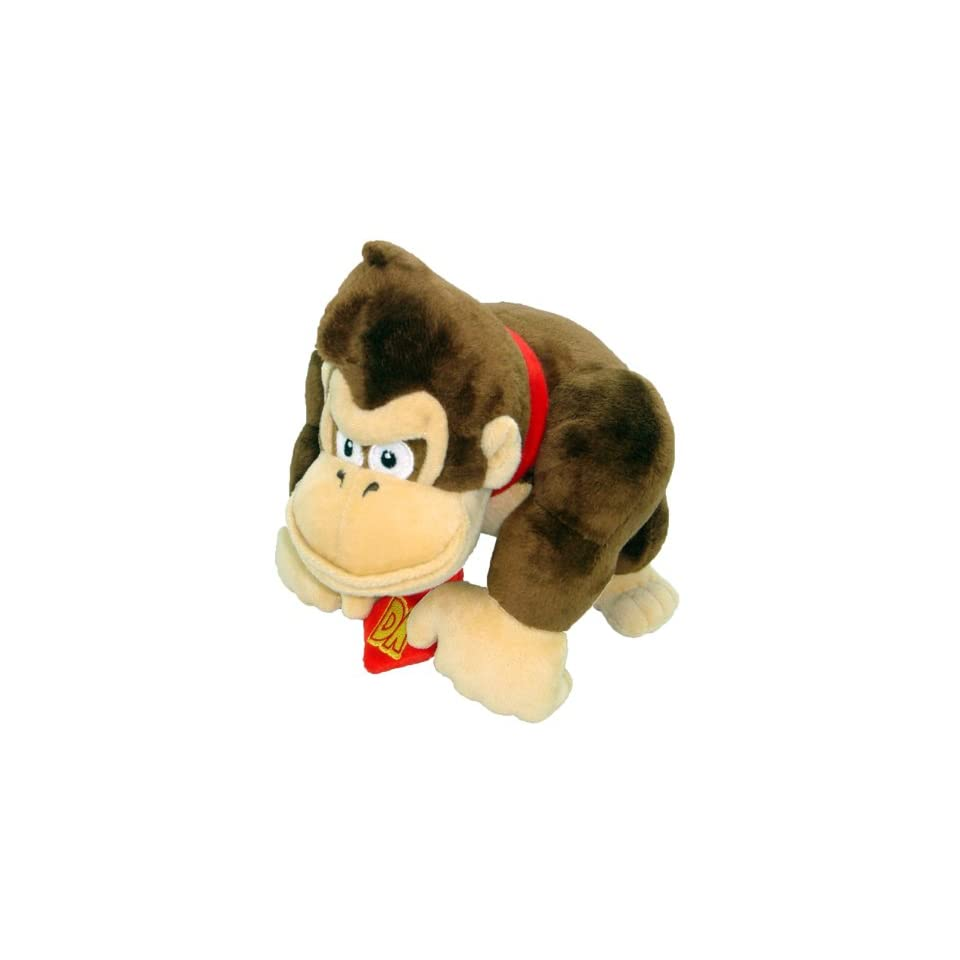 Super Mario Plush   6 Diddy Kong Soft Stuffed Plush Toy Japanese Import