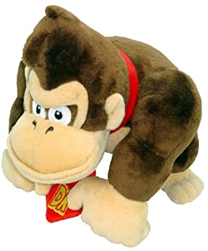 "Super Mario Peluche – 9 ""Donkey Kong suave peluche ..."