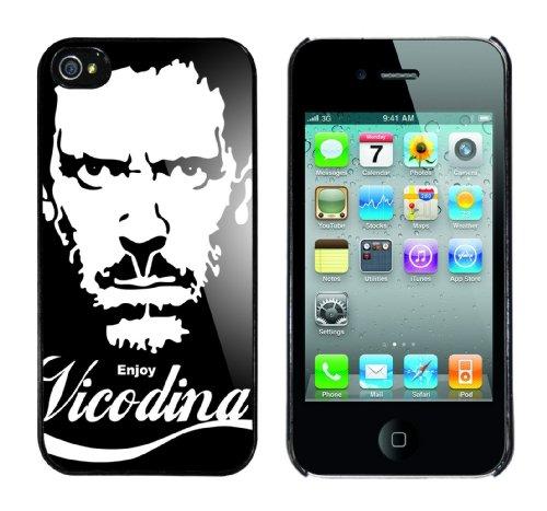Iphone 4 Case Enjoy Vicodina Rahmen schwarz