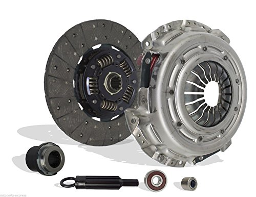 Clutch Kit Works with Chevrolet Blazer S10 C1500 P30 GMC Jimmy Savana Sonoma 1500 K1500 Ls Xtreme Envoy Diamond Base Sle Sl 1996-2003 4.3L V6 GAS OHV Naturally -