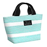 SCOUT NOONER Insulated Lunch Bag for Women, Water-Resistant Soft Cooler Lunch Tote with Zipper Closure (Multiple Patterns Available)