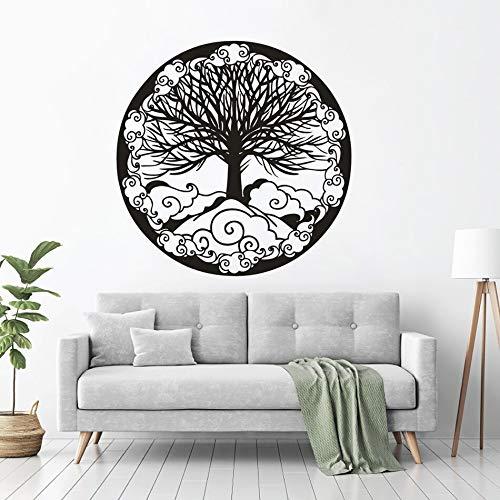 Geiqianjiumai Árbol de círculo de Vida Pegatinas de Pared de ...