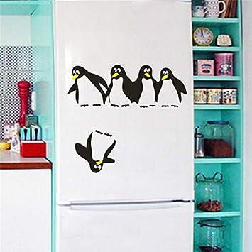 WLGOOD Divertido Sav e pingüino cocina nevera calcomanías ...