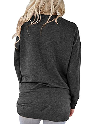 Sherosa-Womens-Casual-Long-Sleeve-Round-Neck-Solid-Sweatshirt-Loose-Tunic-Shirt-Blouse-Tops-With-Pockets