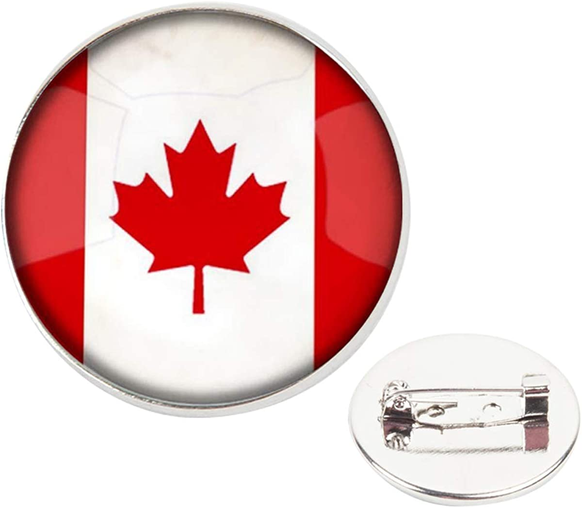 pins pin/'s flag national badge metal lapel backpack hat button vest canada