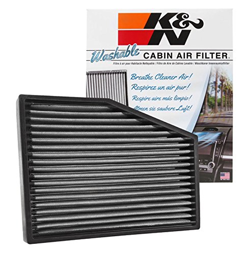 K&N VF3013 Washable & Reusable Cabin Air Filter Cleans and Freshens Incoming Air for your Audi, Volkswagon